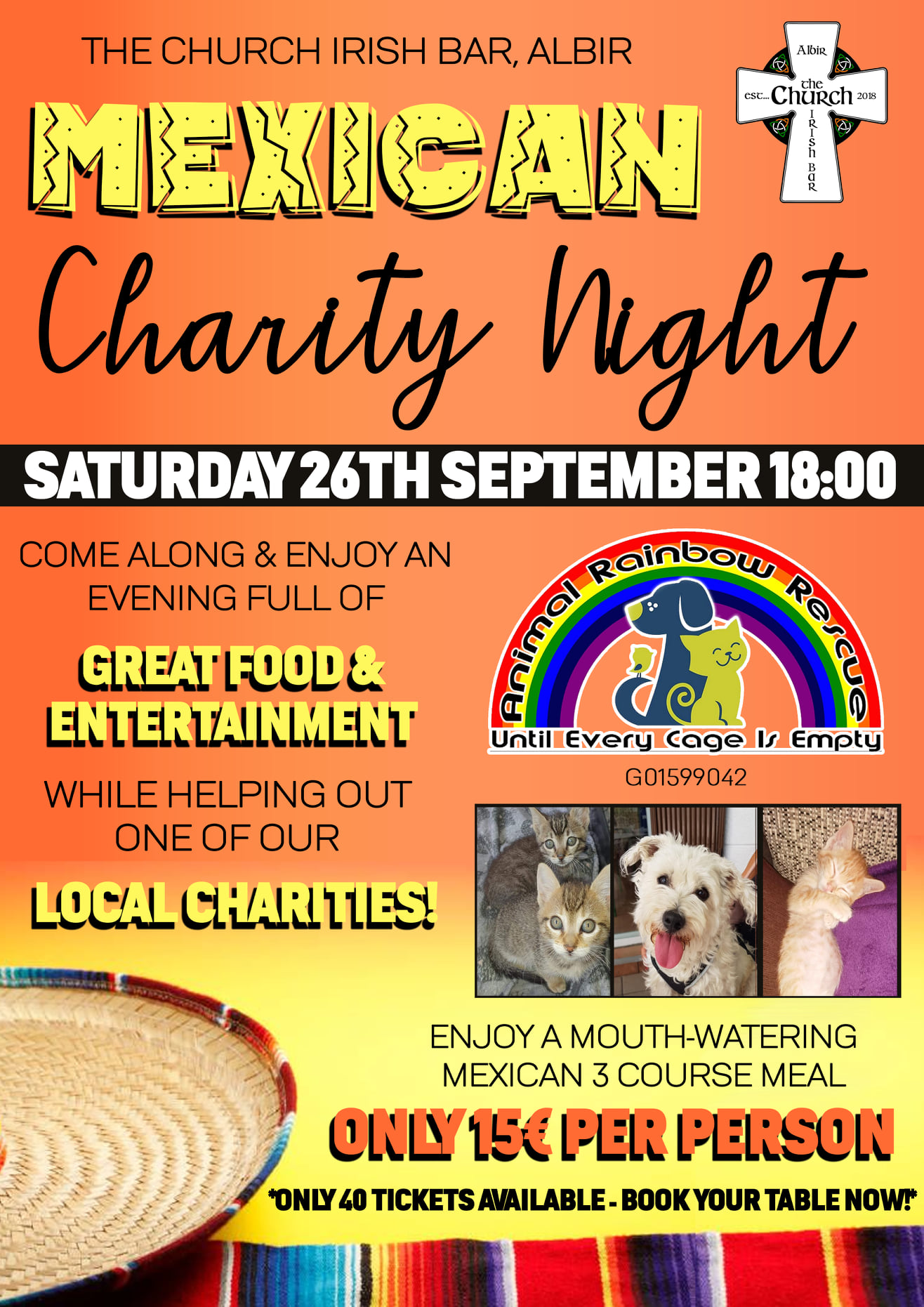 Meican Charity Night